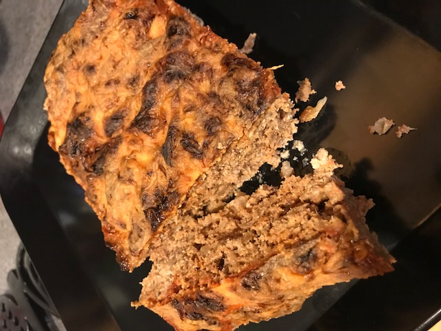 Keto Meatloaf with BBQ Sauce