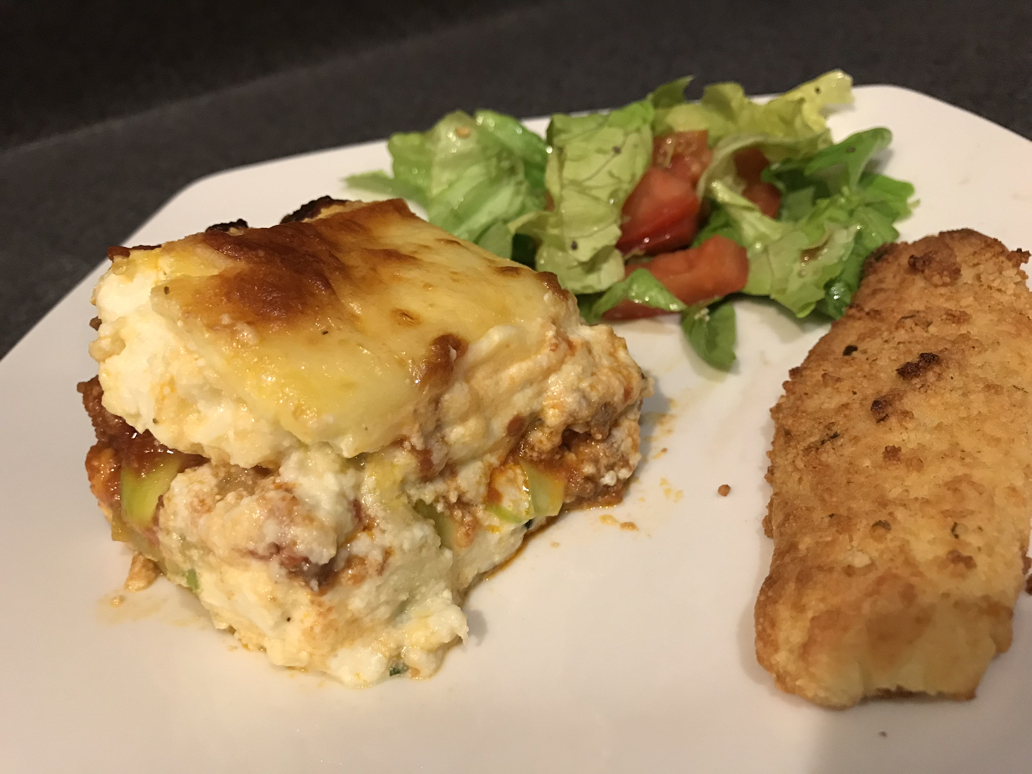 Low Carb Keto Meat & Veg Lasagna