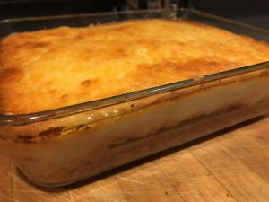 Shepherds Pie with mashed cauli