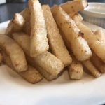 Jicama french fries
