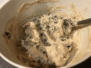 chocolate chip cookie dough mix