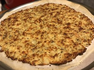 Cauli Pizza crust