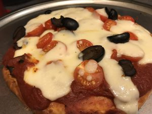 Keto Pizza With Whey Protein Powder Crust