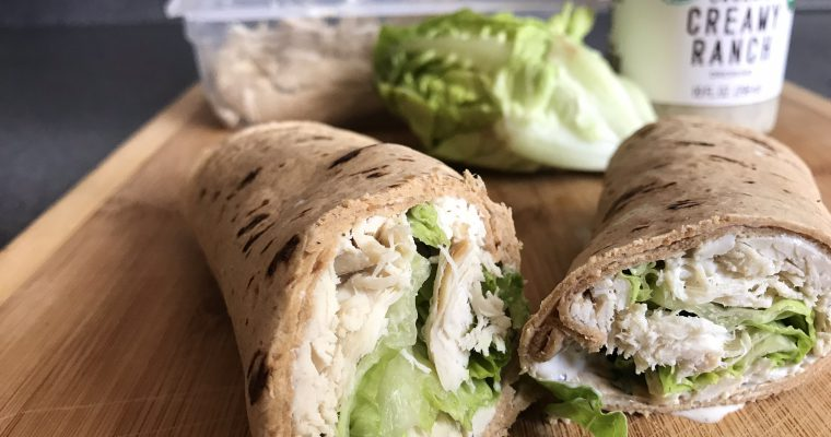 Keto Tortilla Sandwich Wraps