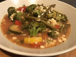 Chicken Vegetable Gumbo Soup
