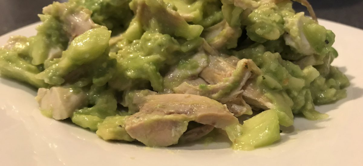 Avocado Cucumber Chicken Salad